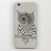 Rupert Owl iPhone & iPod Skin