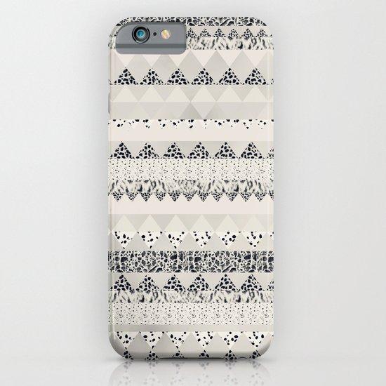 MONOTONE  GEOMETRIC ANIMAL PRINT  iPhone & iPod Case