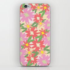 floral party iPhone & iPod Skin