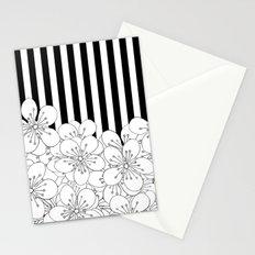 Cherry Blossom Stripes - In Memory of Mackenzie Stationery Cards