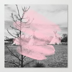 Pink Texas / Marfa Canvas Print