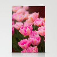 Painted Tulip Stationery Cards