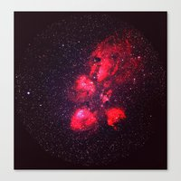 All Those Stars Canvas Print