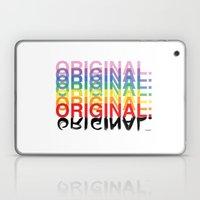 Original. Laptop & iPad Skin