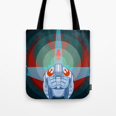 Red leader standing by Tote Bag