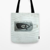 Whale In A Bottle | Trea… Tote Bag