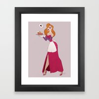 Mrs Rabbit Framed Art Print