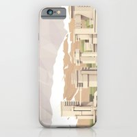 iPhone Cases featuring Mountain City by Timothy J. Reynolds