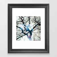 I Can See Windows Throug… Framed Art Print