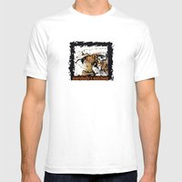 Everybody's Watching Mens Fitted Tee White SMALL