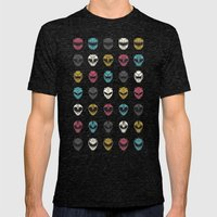 Go Go Mens Fitted Tee Tri-Black SMALL