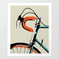 Bike Portrait 2 Art Print