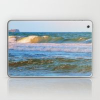 Rolling wave and headland Laptop & iPad Skin