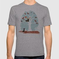 Pinkerton Snake Gets Stu… Mens Fitted Tee Athletic Grey SMALL