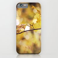 iPhone & iPod Case featuring Amber Droplets by Em Beck