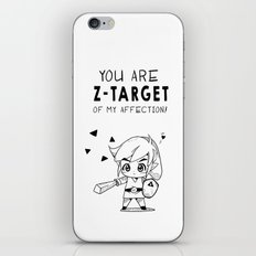 Z-Target of My Affection iPhone & iPod Skin
