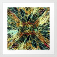 From The Vortex Comes Th… Art Print