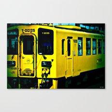 J Train Canvas Print