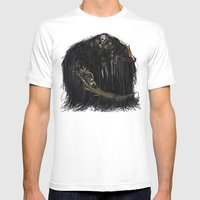 Gravelord Nito - Dark Souls Mens Fitted Tee White SMALL