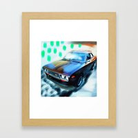 Hotrod Framed Art Print