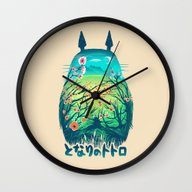 He Is My Neighbor Wall Clock