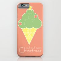iPhone & iPod Case featuring cold and sweet Christmas by Golosinavisual