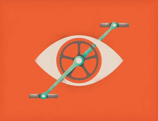 Eyecycle Art Print