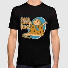 Jabba dabba doo!! SMALL Black Mens Fitted Tee
