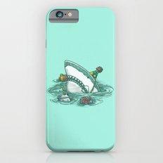 Happy Birthday Shark iPhone 6 Slim Case