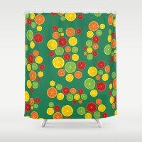 BP 21 Fruit Shower Curtain
