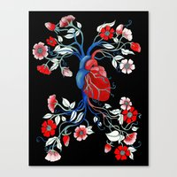 Romantic Anatomy Canvas Print