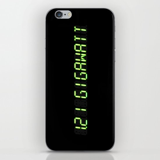 1.21 Gigawatt - Back to the future iPhone & iPod Skin