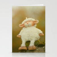 Just Sitting In The Even… Stationery Cards