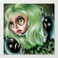 Mother Of Spirits :: Pre… Canvas Print