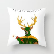 Throw Pillow featuring Superheroes Sf by Jesse Robinson Willi…