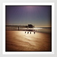 Newport Beach Art Print
