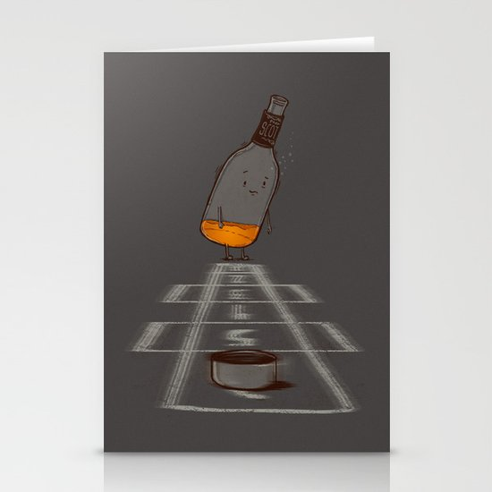 Hop Scotch Stationery Card