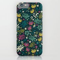 Midnight Florals (pop) iPhone 6 Slim Case