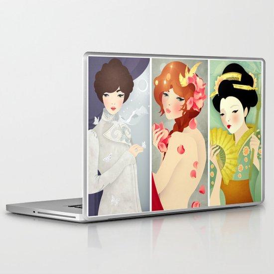 Triptych Laptop & iPad Skin