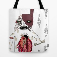 Zombie Dog Tote Bag