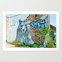I love Berlin Art Print