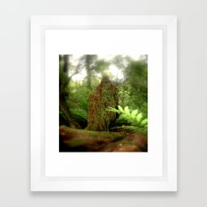 Stumped Framed Art Print