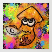 I've Got An Inkling - Or… Canvas Print