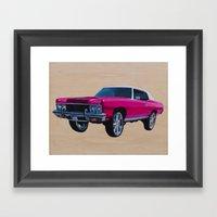 Chevrolet Caprice Donk Framed Art Print