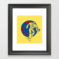 The Magic Transformer Framed Art Print