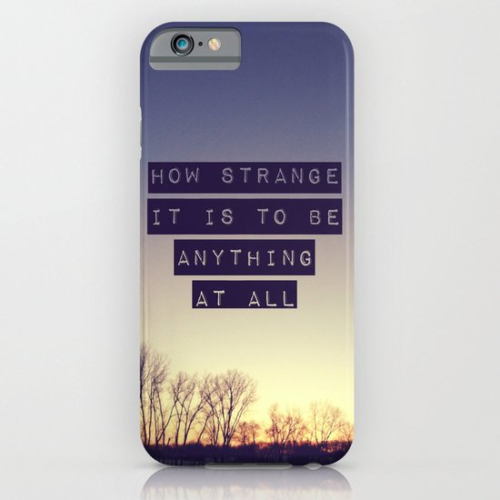 How Strange iPhone & iPod Case
