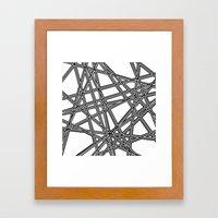 To The Edge #3 Framed Art Print