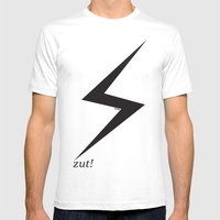 ⚡ Zut! Mens Fitted Tee White SMALL