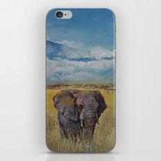 Elephant Savanna iPhone & iPod Skin