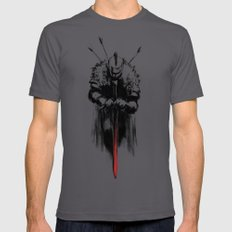 Dark Souls Mens Fitted Tee Asphalt SMALL